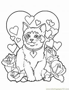 Cat Coloring Pages Printable Az Coloring Pages