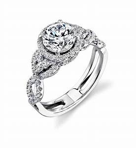 Wedding ring settings only siudynet for Diamond wedding ring settings