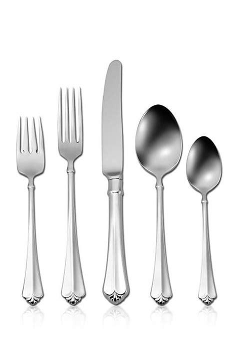 flatware oneida belk silverware stainless julliard sets piece quick