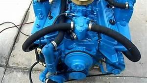 5 7 270hp Crusader Counter Rotation Engine Test Run   Neptune Marine
