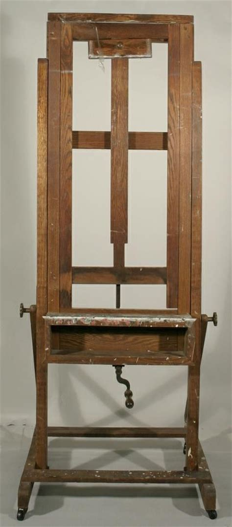 build  adjustable easel woodworking projects plans
