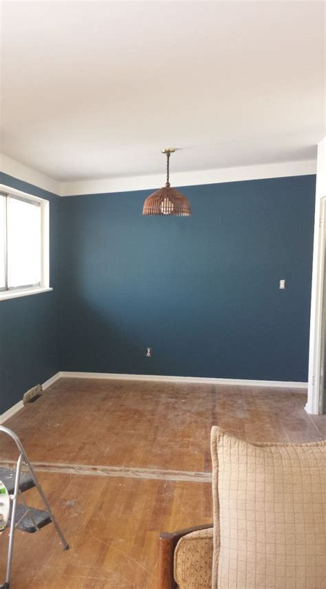 Bedroom Walls Painted Blue by Twilight Blue Valspar Would Look Great In C S