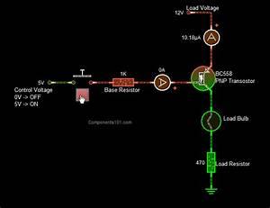 Pnp Transistor Switch Circuit
