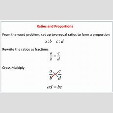 Direct & Inverse Proportions (indirect Proportions) With Solutions, Examples, Videos
