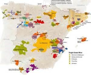 spanien fläche übersicht weinregionen spaniens privatewinelog