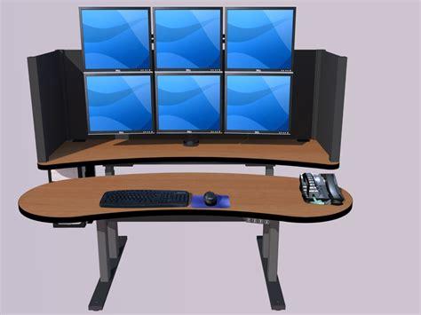 ergonomic computer desk ergonomic pacs furniture radiology computer desk