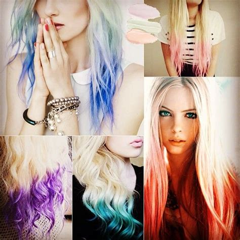65 Best Redandpink Ombre Hair Styles And Extensions Images On