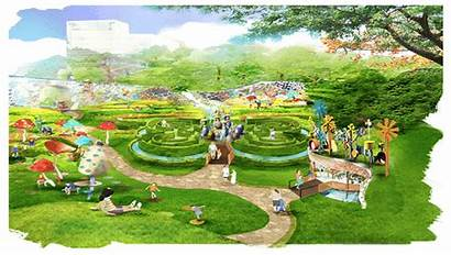 Hospital Children Healing Concept Gardens Park Garden