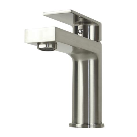 single hole bathroom sink faucet brushed nickel anna brushed nickel bathroom vessel sink single hole faucet