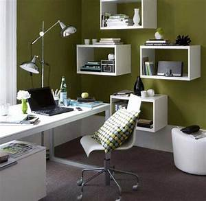 Beautiful home office decor ideas to created your perfect for Decorating ideas for home office