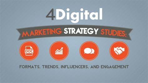 And Marketing - 4 digital marketing strategy studies formats trends