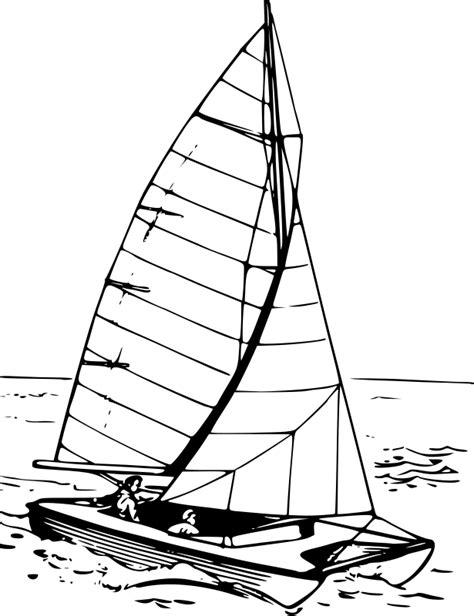 Catamaran Drawing by Clipart Catamaran