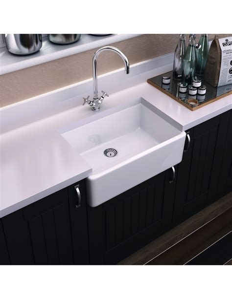 Thomas Denby Legacy 600 Butler Kitchen Sink, With/Without