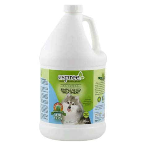 Shed Treatment Products espree simple shed treatment conditioner gallon groomer