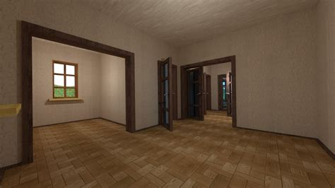 house   interior   empty rooms   models