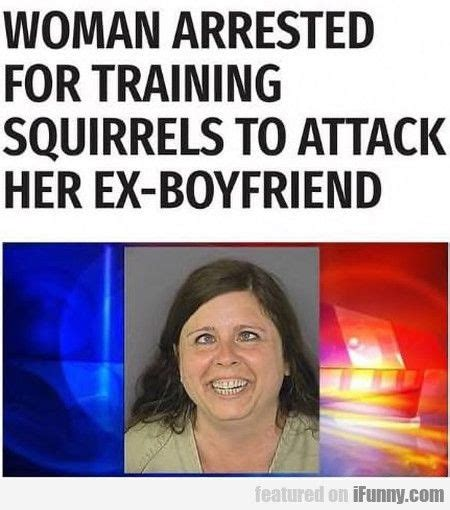 foto de Woman Arrested For Training Squirrels To Attack