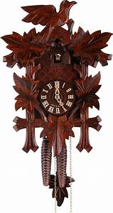 Cuckoo, Clock, 1-day-movement, Carved-style, 34cm, By, Hekas
