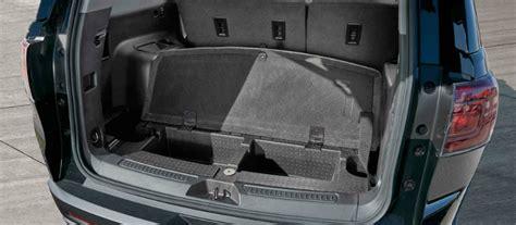 gmc acadia passenger space