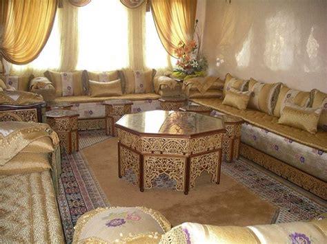 couvre canapé marocain tissu pour salon marocain moderne house