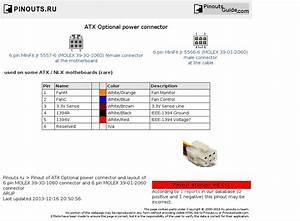 Afbeeldingsresultaat Voor Atx Connector Pinout
