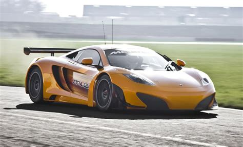Mclaren Mp4-12c Gt3 Race Car Revealed