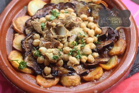 recettes algeriennes aubergines