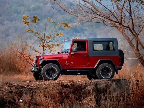mahindra jeep thar 2017 க ஸ ட ல ர ங லர ப ன ற உர ம ற றம ச ய யப பட ம மஹ ந த ர