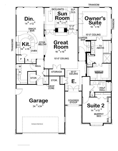 country kitchen floor plans home plans with big kitchens homes floor plans 6062