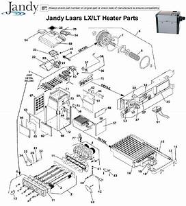 Jandy Jandy Laars Lx  Lt Heater Parts