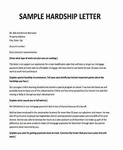 free sample hardship letter for loan modification the With hardship letter to mortgage company