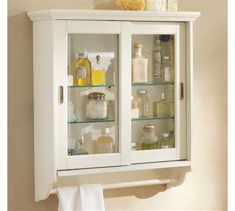 sliding glass door medicine cabinet sliding door wall cabinet pottery barn