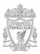 Liverpool Fc Coloring Colouring Football English Colour 1001coloring Coloringpage Total Nice Clubs sketch template