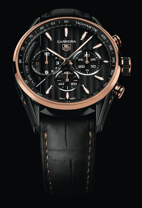 tag heuer carrera tag heuer spacex rose gold pics about space