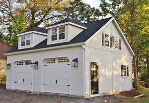 high street market our new carriage house With 2 car garage door for sale