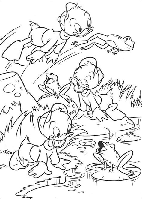 ducktales coloring pages    print