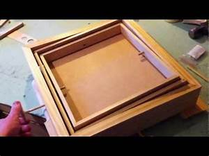 Woodworking - Marble Labyrinth Game Tilt Control Test