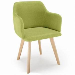 Chaise Tissu Design : chaise scandinave design tissu vert pistache pas cher scandinave deco ~ Maxctalentgroup.com Avis de Voitures