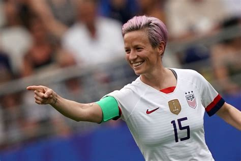 athlete megan rapinoe im      ing white