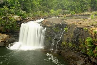 River Canyon Alabama Waterfalls Park Falls Waterfall