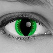 Green Reptile FX Contact Lenses - Gothika - Pair - Monster ...
