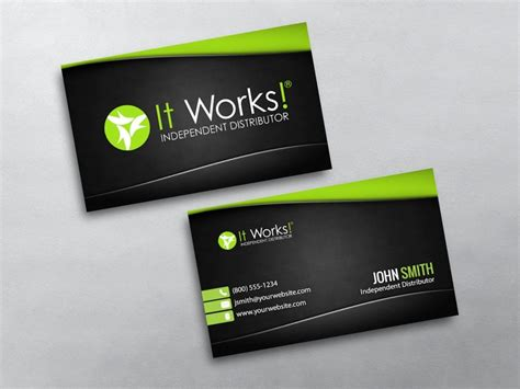 works business cards  shipping