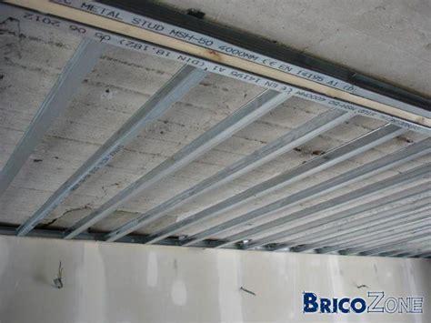 faux plafond metal stud