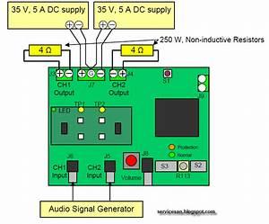 120 W X 2 Channel Class D Audio Power Amplifier Using