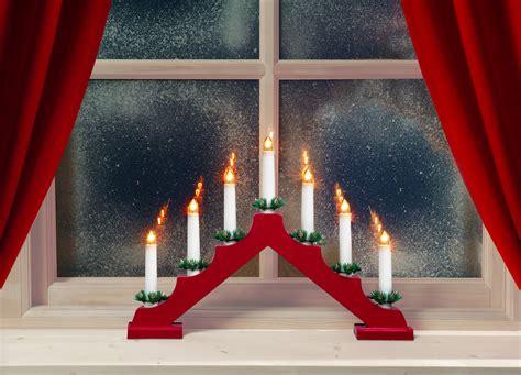 mysigare jul med ljusstakar