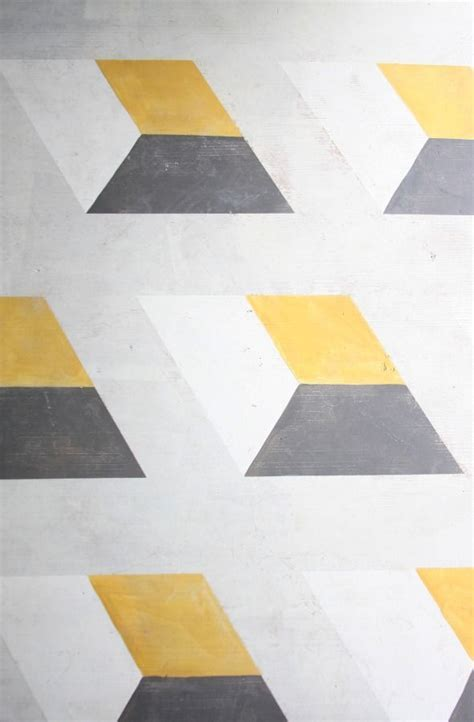 176 best geometric wall images on Pinterest   Paint