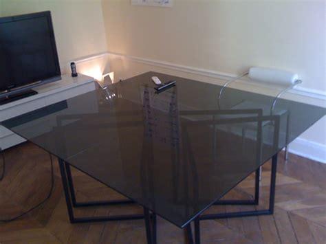 dessus de table en verre trempe sur mesure verre securit verre tremp 233 sur mesure