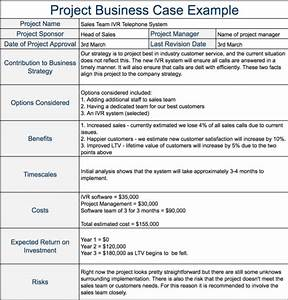 project business case example expert program management With pmi business case template