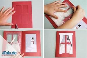 Weihnachtskarten Basteln Grundschule : einfache weihnachtsbasteleien f r kinder mit anleitung ~ Orissabook.com Haus und Dekorationen