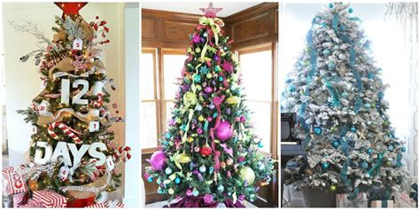 awesome  beautiful decorated christmas tree ideas