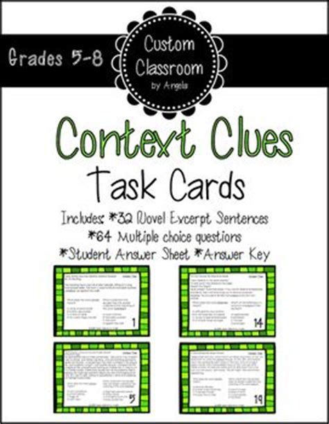 17 Best Images About Custom Classroom Ideas! On Pinterest  Context Clues, Reading Practice And